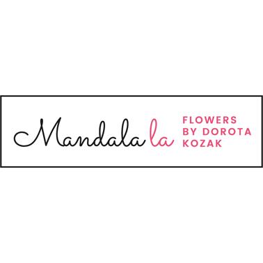 Mandalala Flowers by Dorota Kozak