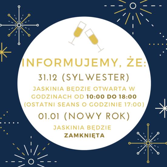 Nowy Rok w Krakowskiej Jaskini Solnej