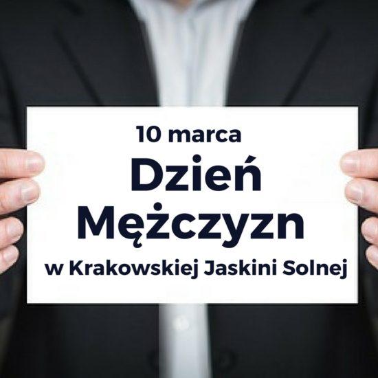 Dzień Mężczyzn w Krakowskiej Jaskini Solnej