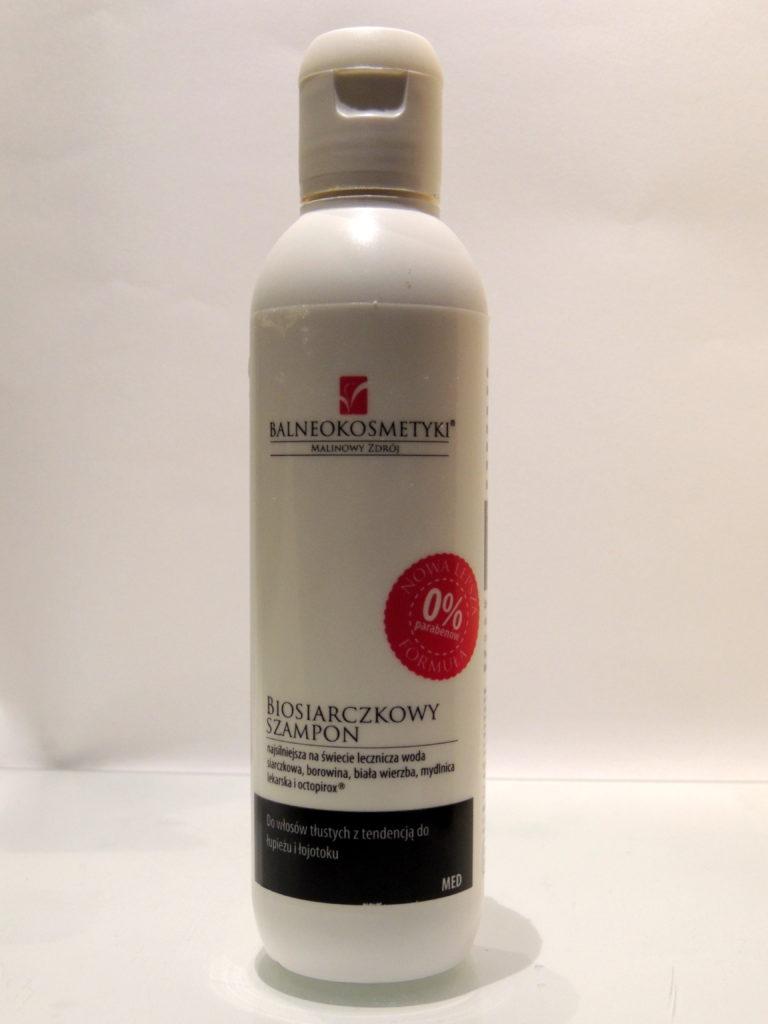 Biosiarczkowy szampon do włosów tłustych z tendencją do łupieżu i łojotoku