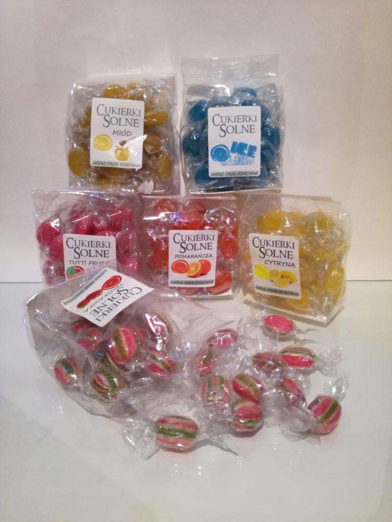 Cukierki solne