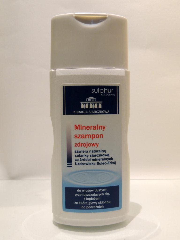 Mineralny szampon zdrojowy Sulphur Busko-Zdrój