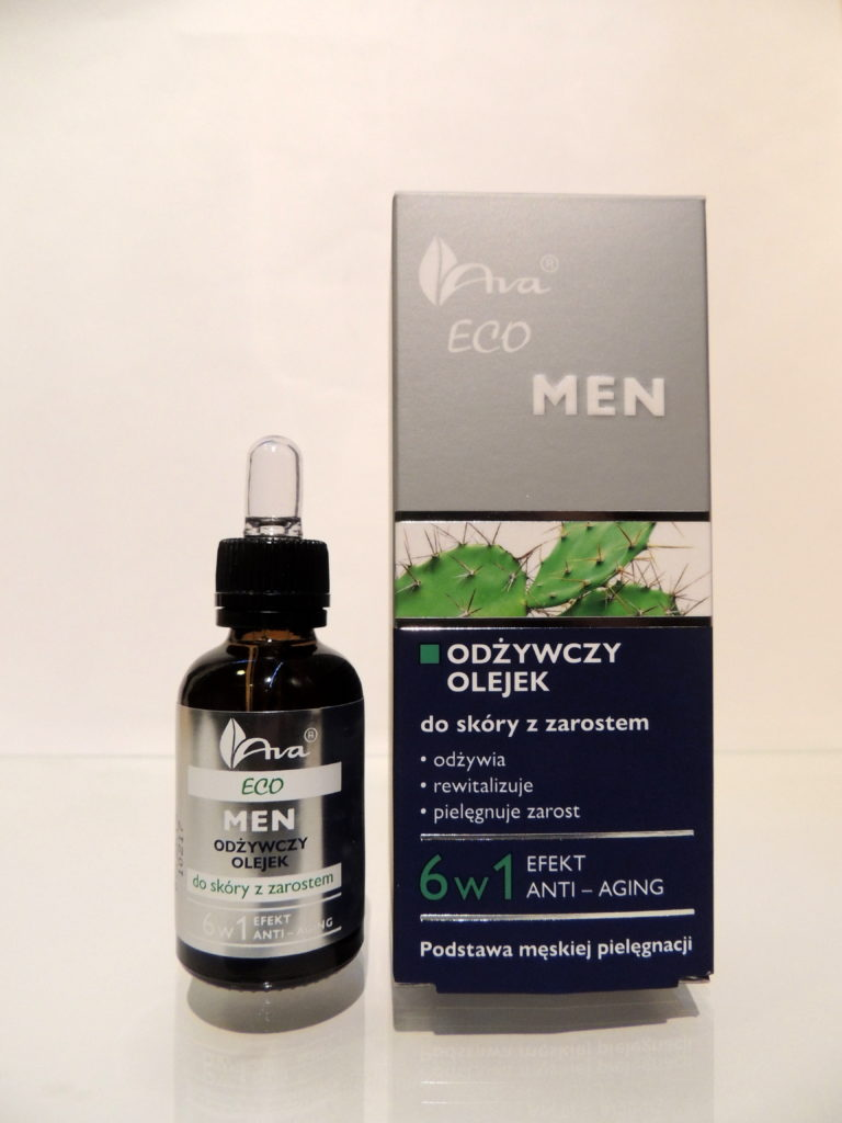 Odżywczy olejek do skóry z zarostem AVA ECO