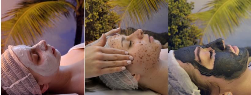 masaż anti-aging twarzy z peelingiem i maską krakowska jaskinia solna