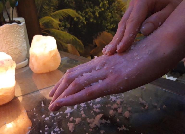 masaż peelingujący ciała