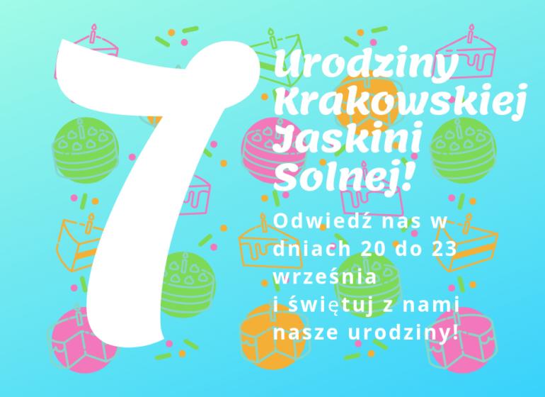 urodziny krakowskiej jaskini solnej